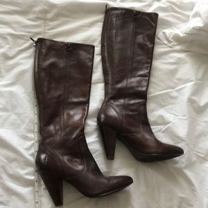 Frye brown boots 7.5 M